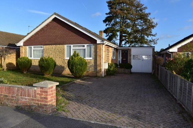 Thumbnail Detached bungalow for sale in Clark's Gardens, Hungerford