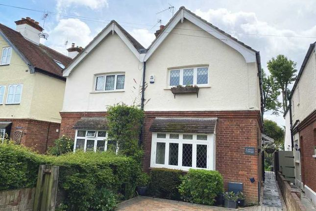 Thumbnail Semi-detached house for sale in Vicarage Lane, Laleham Upon Thames