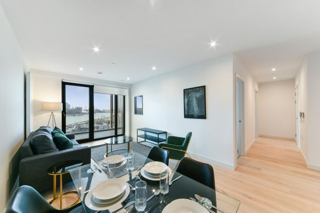 Thumbnail Flat for sale in Marco Polo Tower, Royal Wharf, London