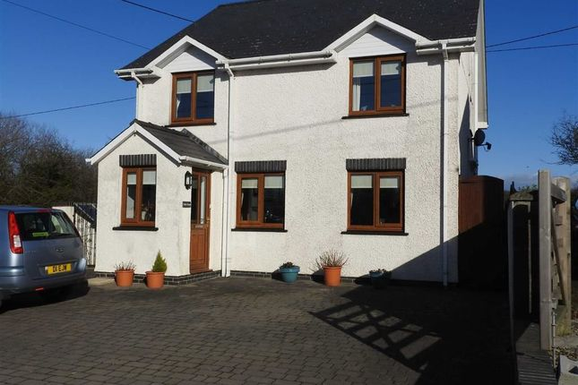 4 bed detached house for sale in Llanrhystud
