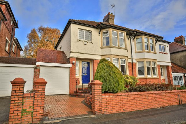 Thumbnail Semi-detached house for sale in Dorchester Avenue, Penylan, Cardiff