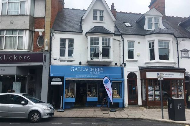 Thumbnail Commercial property to let in Regent Street, Rugby