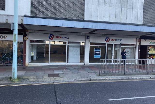 Thumbnail Retail premises to let in 107-109 Mayflower Street, Plymouth, Devon
