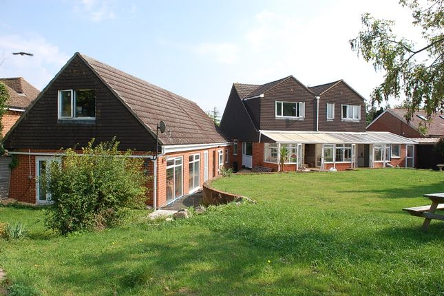 Thumbnail Detached house for sale in Wallop Road, Grateley, Andover