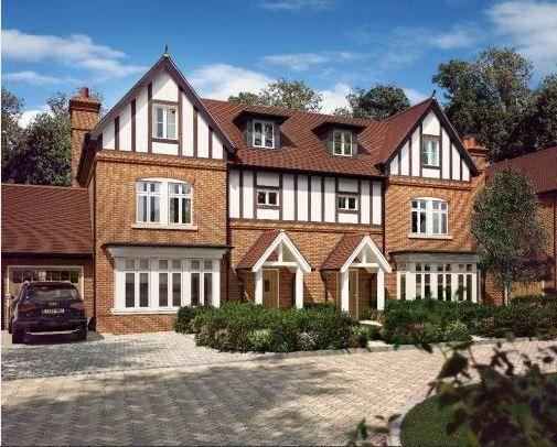 Thumbnail Semi-detached house for sale in Taplow Riverside, Mill Lane, Taplow