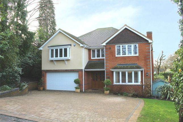 Thumbnail Detached house for sale in Maywood Drive, Camberley, Surrey