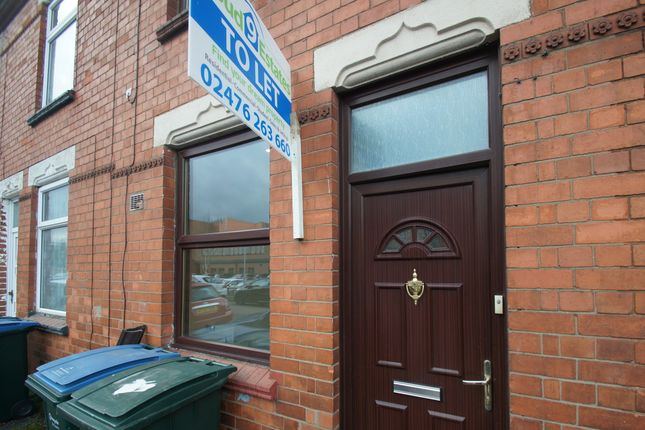 Thumbnail Terraced house to rent in Lansdowne Street, Coventry