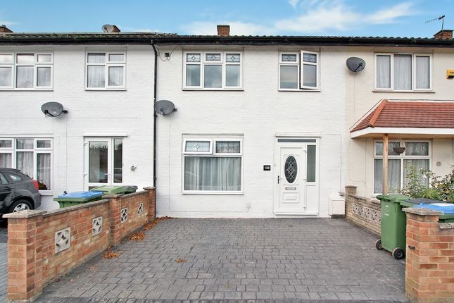 Thumbnail Terraced house to rent in Finchale Road, Abbeywood
