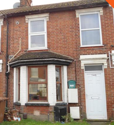 Thumbnail Maisonette to rent in Foxhall Road, Ipswich
