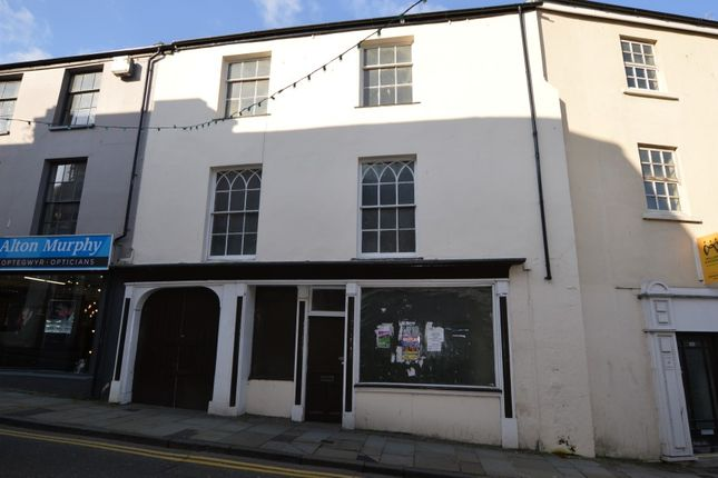 Thumbnail Retail premises for sale in 201 High Street, Bangor, Gwynedd