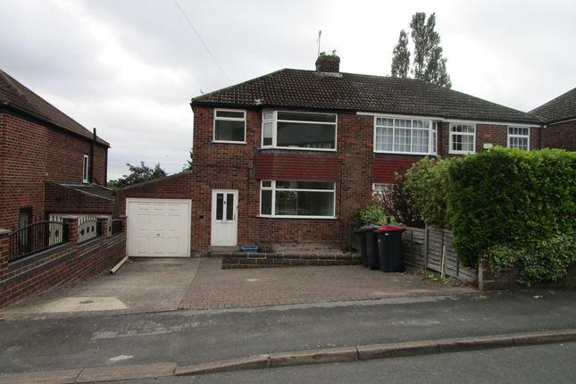 Thumbnail Semi-detached house to rent in Hungerhill Road, Kimberworth