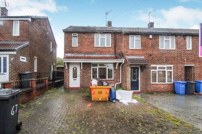 Thumbnail 2 bed end terrace house for sale in Tennessee Road, Derby