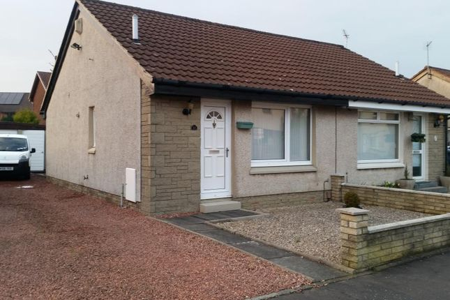 Thumbnail 1 bedroom semi-detached bungalow to rent in Chambers Drive, Carron, Falkirk