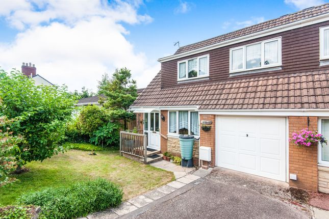 Thumbnail Semi-detached house for sale in Withy Close, Tiverton