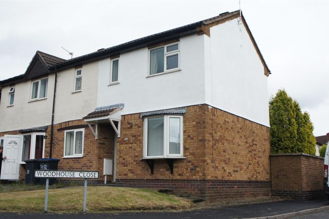 Thumbnail Terraced house for sale in Linford Crescent, Markfield