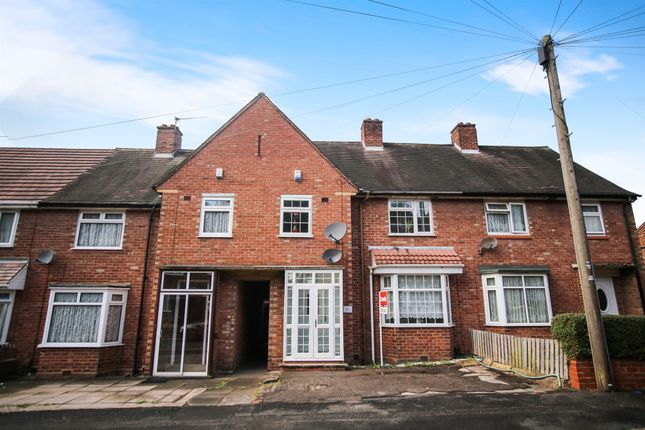Thumbnail Terraced house for sale in Hales Crescent, Bearwood, Smethwick