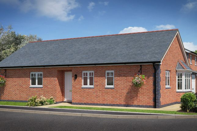 Thumbnail Detached bungalow for sale in Arddleen, Powys