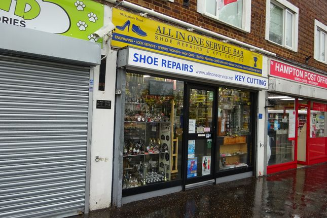 Thumbnail Retail premises for sale in 98 Station Road, Hampton