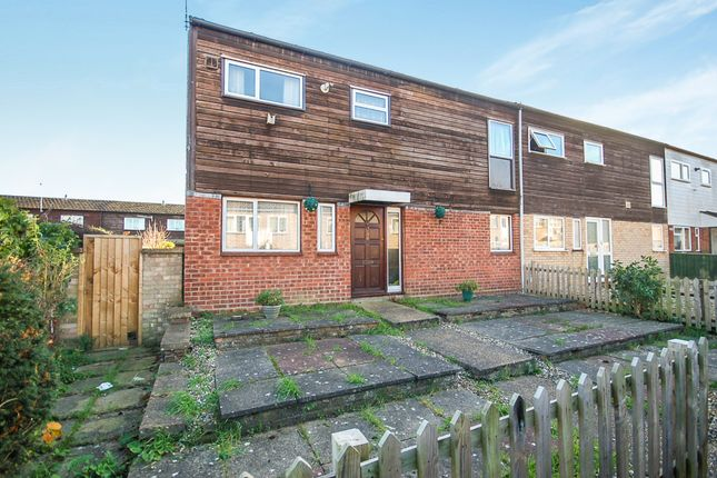 3 bed end terrace house for sale in St. Martins Way, Thetford, Norfolk