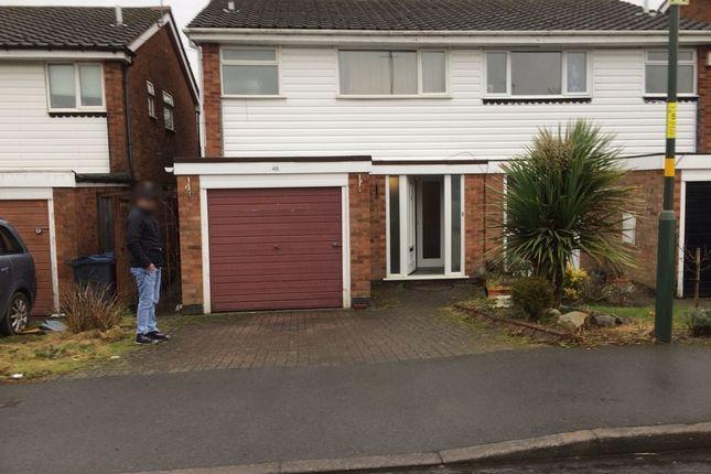 Hartswell Drive, Kings Heath, 3 Bedroom Semi Detached B13