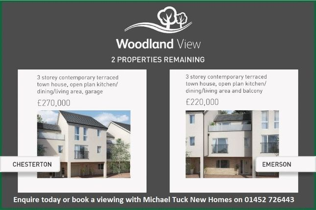 Thumbnail End terrace house for sale in Vicarage Drive, Mitcheldean