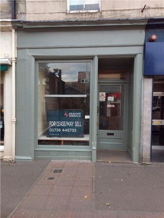 Thumbnail Retail premises to let in 9 South Methven Street, Perth
