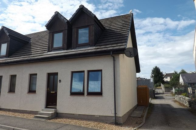 Thumbnail Semi-detached house for sale in Averon Road, Alness