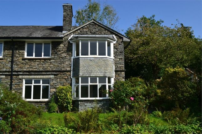 Thumbnail Semi-detached house for sale in The Cottage, Birkett Hill, Bowness-On-Windermere, Cumbria