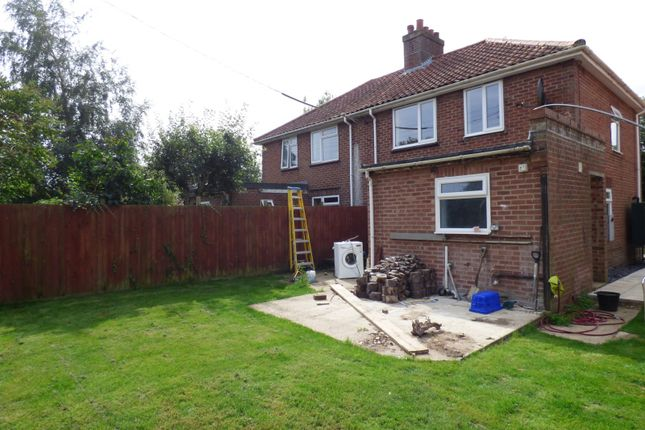 Thumbnail Property for sale in Hall Lane, Wacton