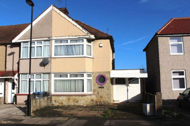 Thumbnail End terrace house for sale in St. Mary's Road, Edmonton