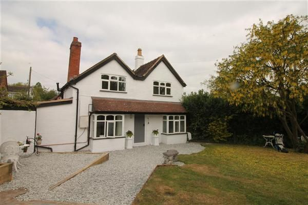 Thumbnail Detached house for sale in Cranmore, Birmingham Road, Kings Coughton, Alcester, Kings Coughton, Alcester