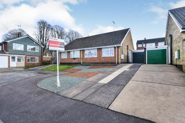 Front of Caton Close, Sutton-In-Ashfield, Nottinghamshire, Notts NG17