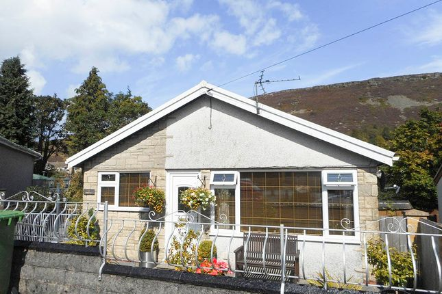 Thumbnail Detached bungalow for sale in Oakdale Road, Tonypandy