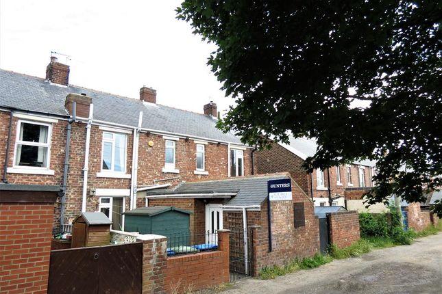 External of Carlton Terrace, Easington Village, County Durham SR8