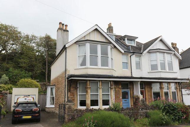 Thumbnail Detached house for sale in Wellington Terrace, Clevedon