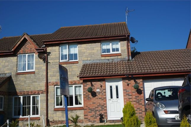 Thumbnail Semi-detached house to rent in Bryn Onnen, Kenfig Hill, Bridgend