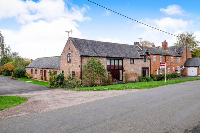 Thumbnail Barn conversion for sale in Main Street, Ratcliffe On The Wreake, Leicester