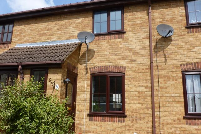 Thumbnail Terraced house to rent in Haighs Close, Chatteris