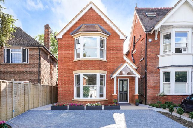Thumbnail Detached house for sale in Devonshire Road, Weybridge, Surrey