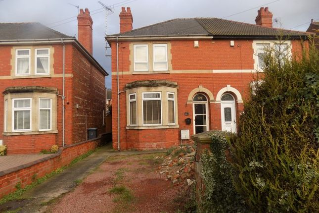 Thumbnail Semi-detached house for sale in Lea Road, Gainsborough