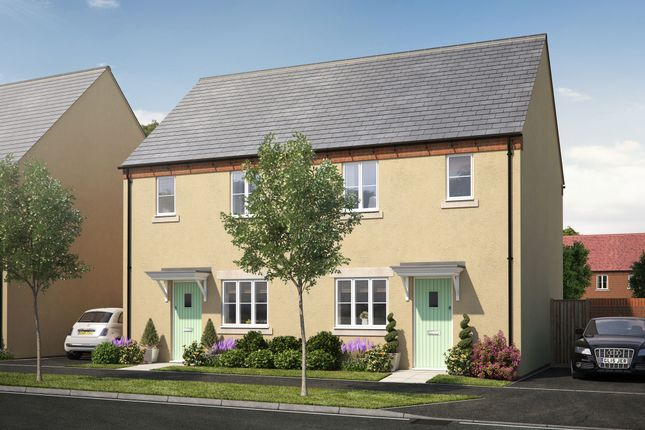 "Thumbnail Terraced house for sale in ""The Elm"" at Perth Road, Bicester"
