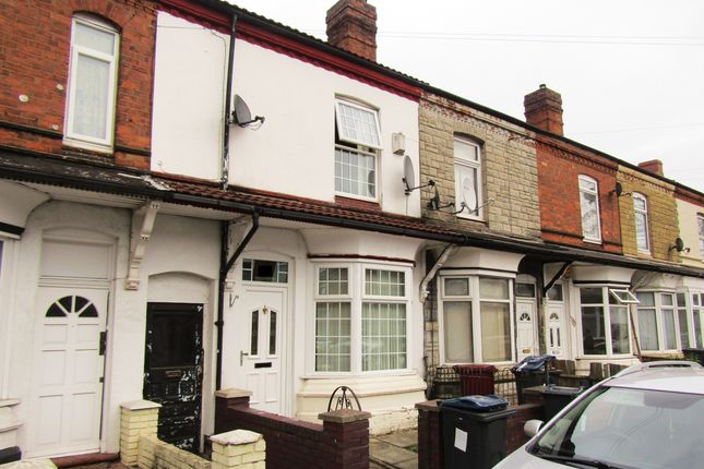 Thumbnail Terraced house to rent in St. Margarets Road, Ward End, Birmingham