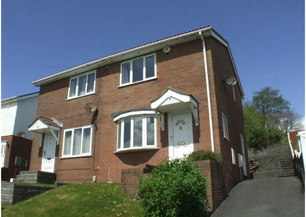 Thumbnail Semi-detached house to rent in Bryn Eglur Road, Morriston, Swansea