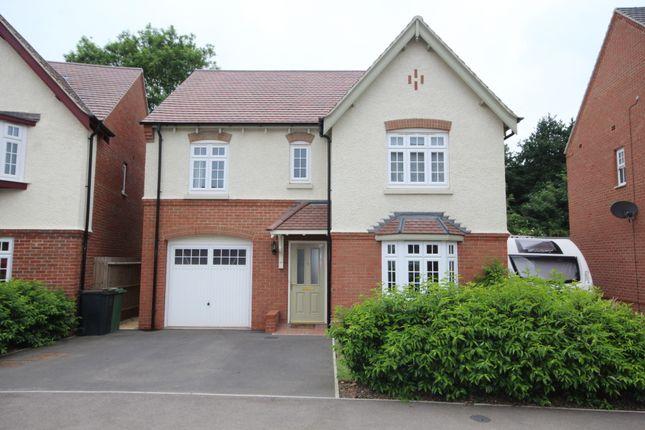 Thumbnail Detached house for sale in Adderley Avenue, Weddington, Nuneaton