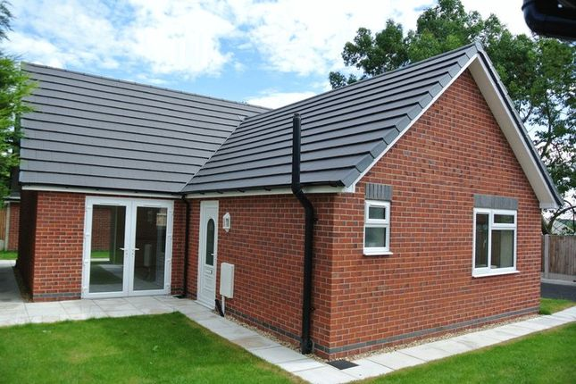 Thumbnail Detached bungalow for sale in Ley Bank, Mansfield