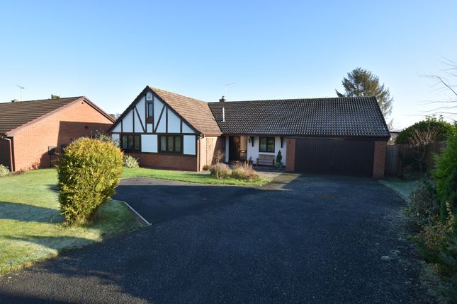 Thumbnail Detached bungalow for sale in Millfield Drive, Market Drayton