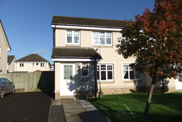 Thumbnail Detached house to rent in Peasehill Fauld, Rosyth, Fife