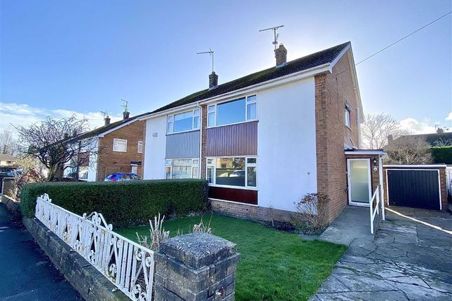 Thumbnail Semi-detached house to rent in Hafod Park, Mold, Flintshire