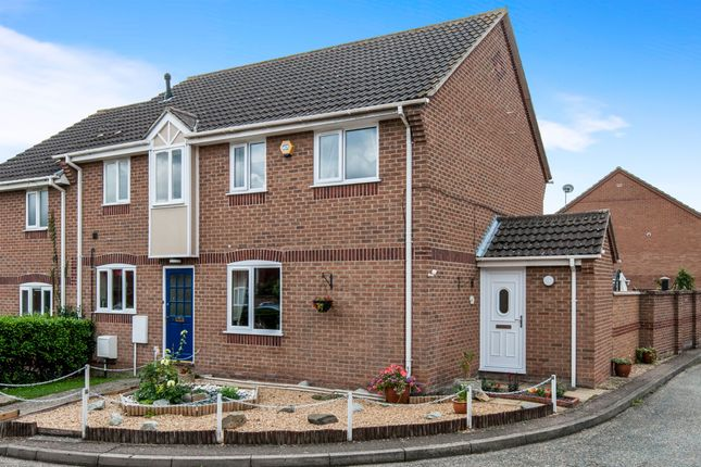 Thumbnail End terrace house for sale in Aldrich Way, Roydon, Diss