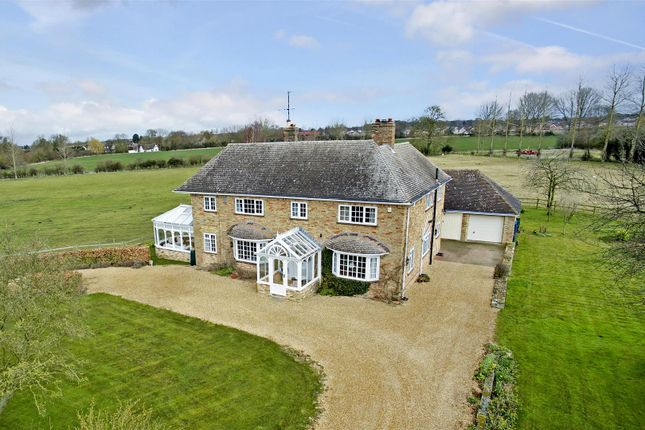 Thumbnail Detached house for sale in Park Road, Brampton, Huntingdon
